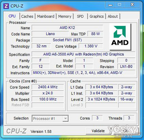 SNB与APU孰强孰劣 六款CPU对垒使命召唤8