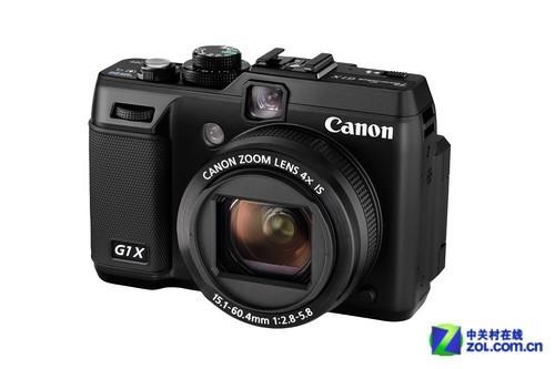 1.8X大型CMOS 佳能CES2012发布无反G1X