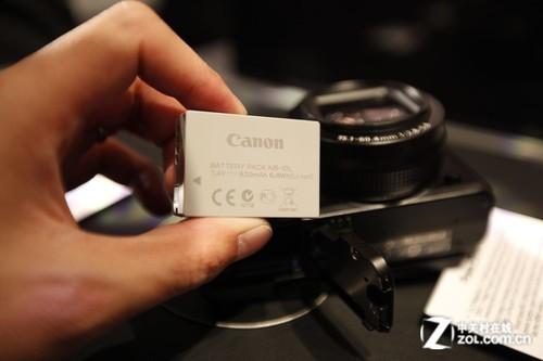 最值得期待单电 佳能G1 X真机亮相CES