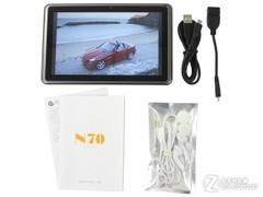 7英寸IPS硬屏可打电话原道N70评测