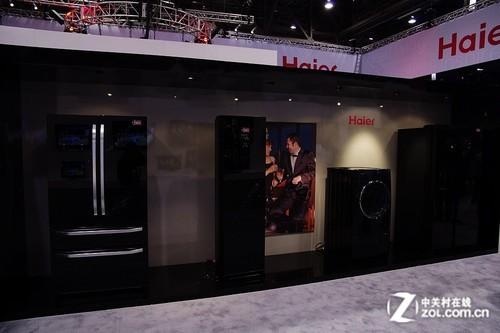 目标欧美市场海尔CES携多款冰箱亮相