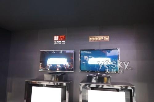CES2012:东芝展示4K电视裸眼3D仍是主旋律