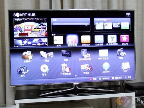 窄边框新时尚 三星D8000系SmartTV图赏