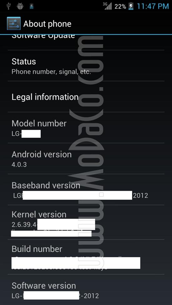 LG四核手机跑分图曝光:性能秒杀Galaxy Nexus