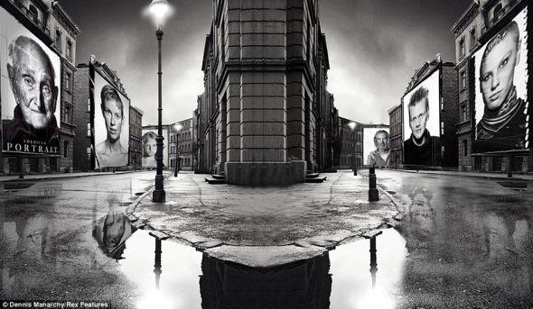 美摄影师打造巨型照相机长度超10米