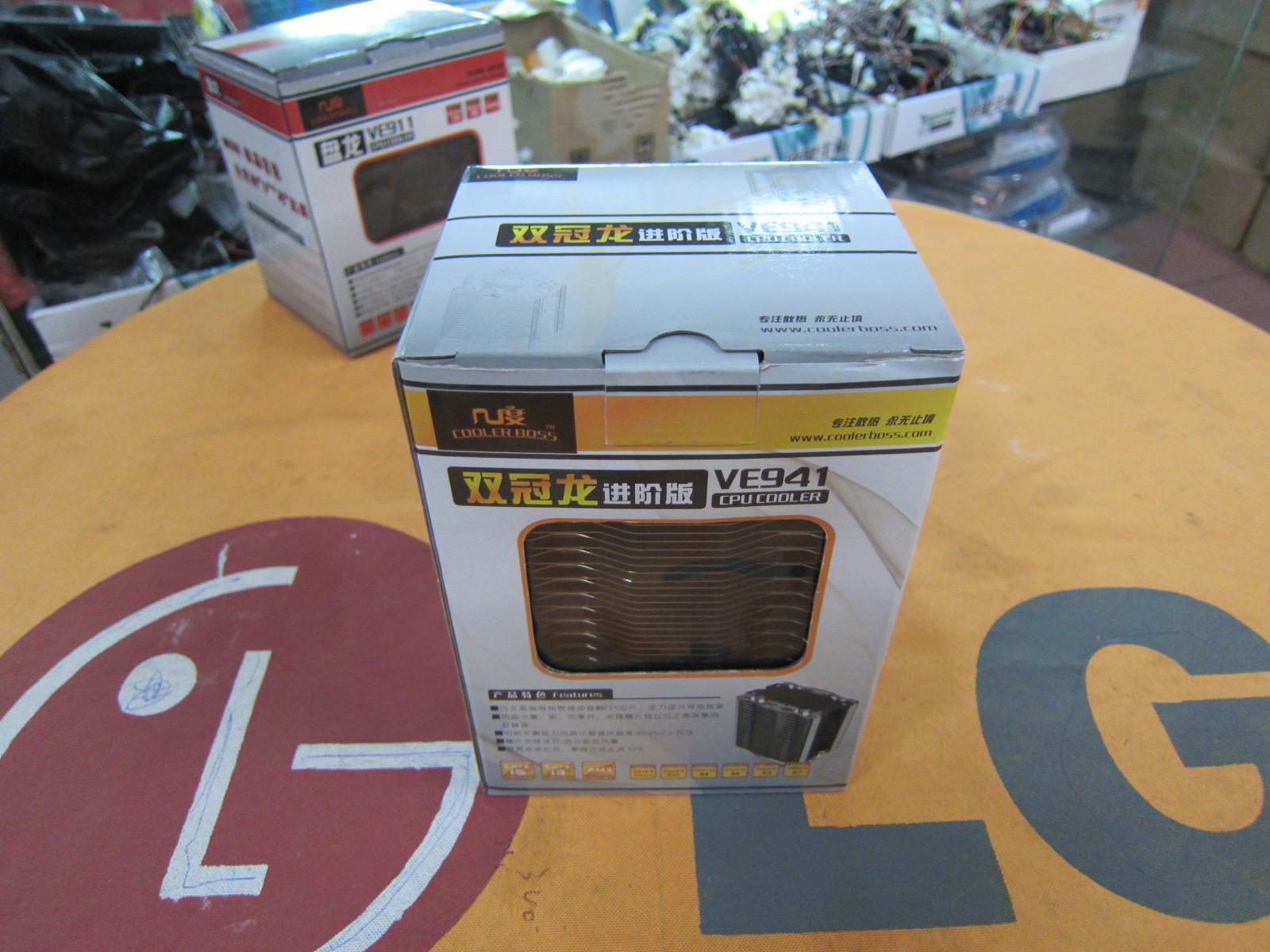 全方面升级 双冠龙VE941进阶版散热器_硬件_