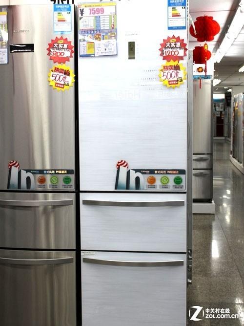 经典意式外观卡萨帝三门冰箱现6174元