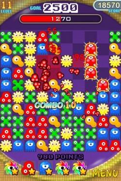可爱卡通画风 iphone游戏爆裂细菌战