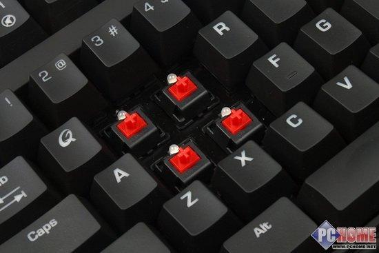 顶级装备QPADMK-85红轴键盘深度评测(4)