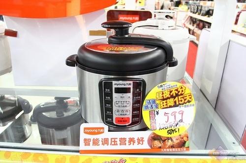 快速烹饪首选九阳50YS7电压力锅热卖