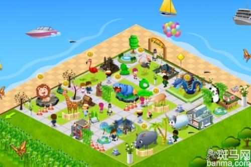 梦幻动物园    推荐理由:前所未有的动物园游戏,题材非常的新颖,灵活
