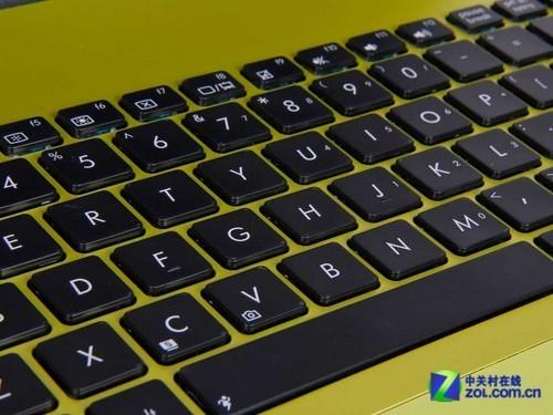 时尚抹茶绿 华硕X401笔记本外观评测