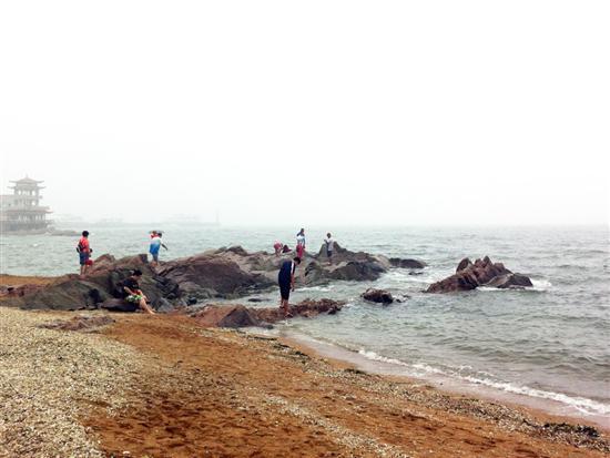 葫芦岛兴城 索尼LT26W体验风雨大海行_手机