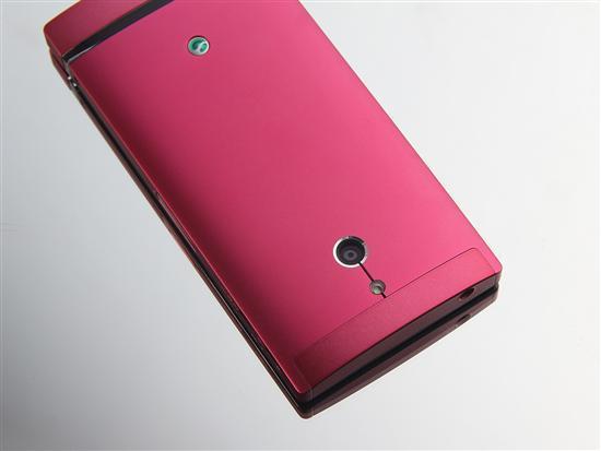 图为:索尼LT22i手机-800万像素 玫红款索尼双核LT22i图赏