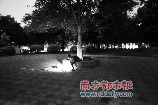 女子怀抱小孩树下打手机遭雷击身亡(图)