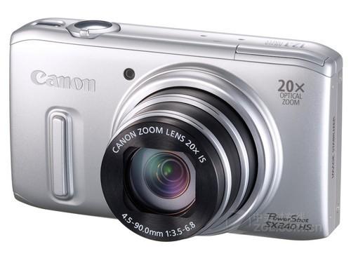 25mm广角20倍光变 佳能大屏SX240新低价
