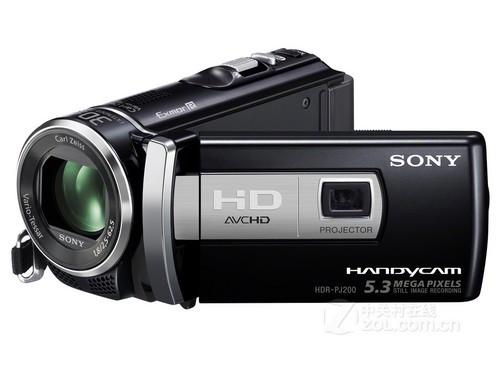 入门级投影摄像机 索尼PJ200E带票2880元