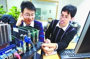 北京80后研出世界最快硬盘:传输速度每秒1.5GB
