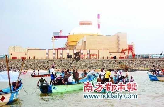 印度核电之忧:政府缺乏安全运营能力
