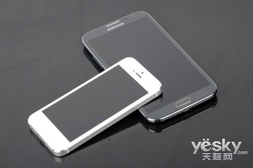旗舰与旗舰的较量NoteⅡ对比iPhone5(2)
