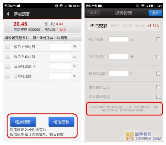 手机炒股哪个好 四大手机炒股软件年度横评(4