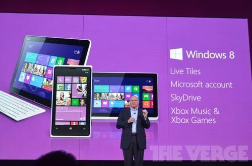 设备11月集体上市 微软WP8正式版发布