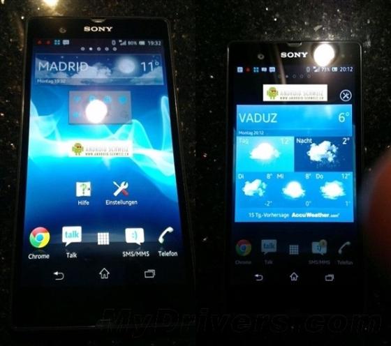 火拼Galaxy S4 索尼两款5寸1080p强机再曝光