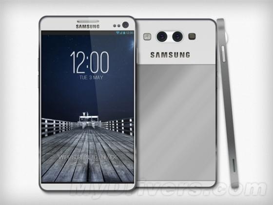 三星Galaxy S4再曝光:9.1mm厚/金属机身