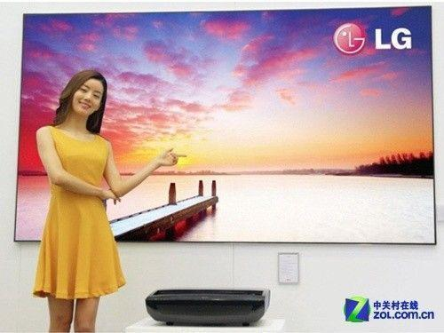CES2013:LG发布100英寸激光投影电视
