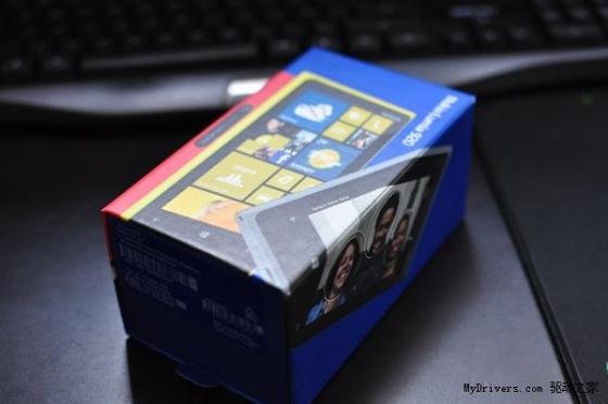 不怕留指纹 灰色Lumia 920开箱图赏