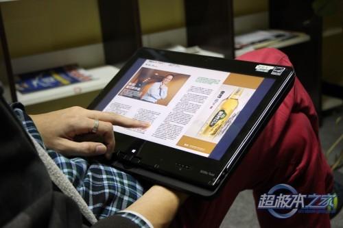 【真】ThinkPad S230u Twist平板超极本首测