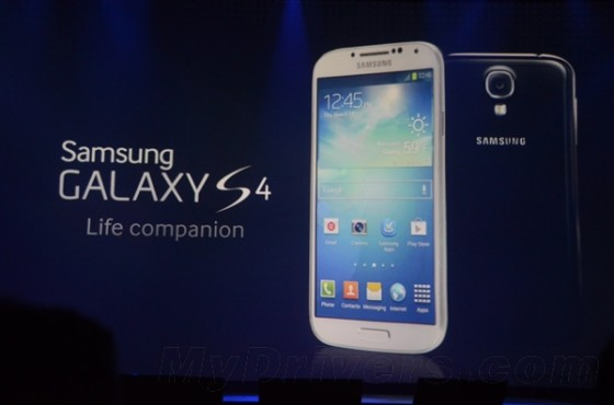 三星坑爹呢?亮相的Galaxy S4只是廉价版