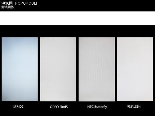 细节决定品质四款1080P手机屏幕对比