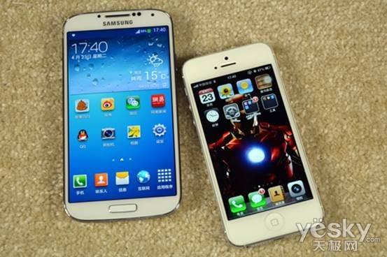 终极的较量 三星S4与苹果iPhone 5对比(2)|三星