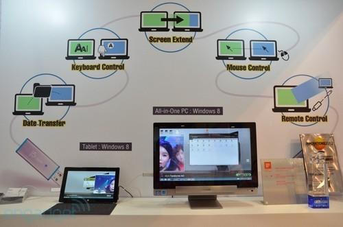 两台windows电脑通过这个数据线连接后,再安装好相应驱动程序和软件