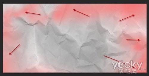 Photoshop水彩背景设计流体排版