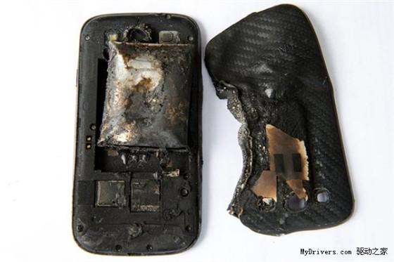 三星回应Galaxy S3电池爆炸:非原装产品
