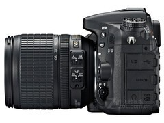 2410w像素无低通 尼康D7100单机售7700元