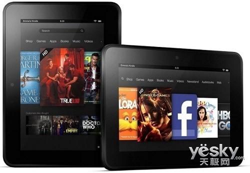 性能提升3倍亚马逊或秋季发布新Kindle平板