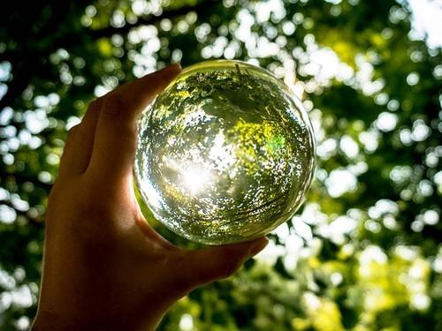 水晶球看世界索尼微单™NEX-5R创意小品