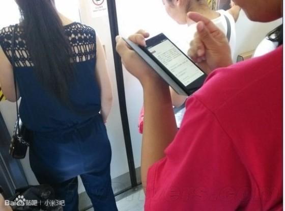好像Lumia:小米3真机现身