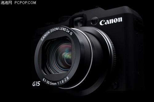 给力便携卡片相机佳能G15仅售2938元