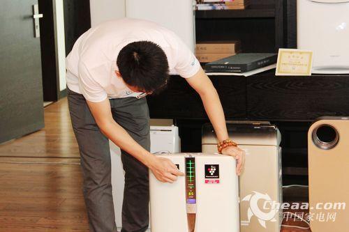夏普空气净化器杭州体验会:净化器能美容