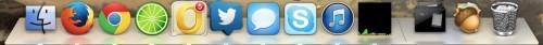 苹果OS X 10.9 Mavericks系统界面截图