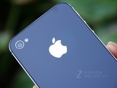 iPhone 4S 黑色 logo图