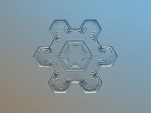 六角雪花折纸步骤图解