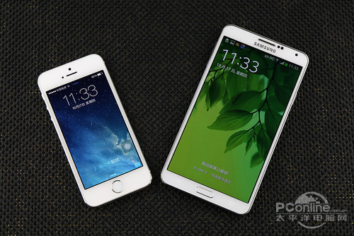 5s对比note3
