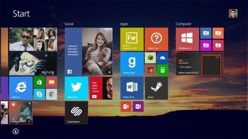 抢先微软 国外设计师自造概念版Win8.2