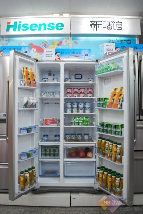 超大容量 海信对开门冰箱新品惊爆价