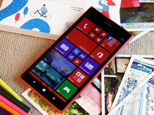6英寸1080p巨屏Lumia1520售3799元